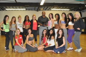 Chris Draft and the Spirit Dance Team
